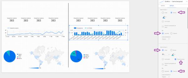 lineas tendencias data studio datos 2
